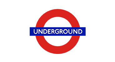Client logo for London Underground. Communication project to improve safety communications to commuters.