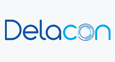 Client logo for Delacon. Strategy advisor, Marketing management, sales management, partner management.