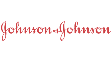 Client logo Johnson and Johnson. Customer research.