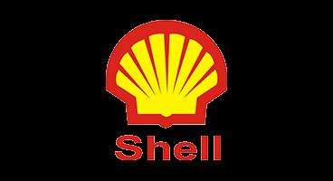 Client logo for Royal Dutch Shell Logo. Global internal communications project.